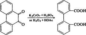 واکنش پتاسیم دی کرومات با اسید سولفوریک
