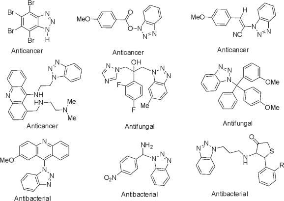 بنزوتری ازول در داروسازی