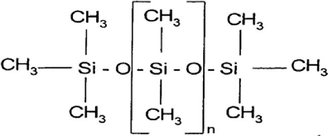 روغن سیلیکون ساختار شیمیایی
