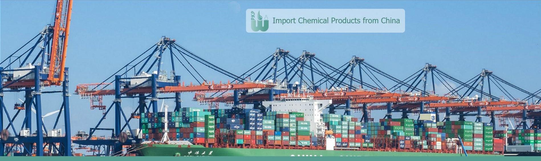 import chemicals